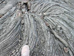 ラエアプキの溶岩