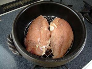 鶏胸肉ビフォー