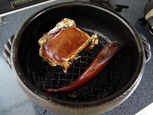 チーズと氷下魚アフター