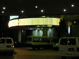 ホテルのネオン