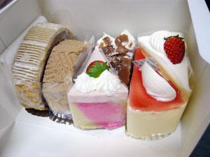 Patisserie Grand Soleilのクリスマスケーキ試食BOX