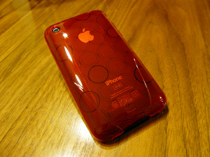 iSkin solo FX for iPhone 3G/3GS Red