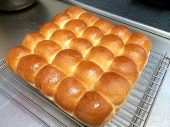 ちぎりパン焼成後
