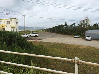 瀬戸浜海水浴場-駐車場