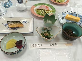 青倉亭-朝食