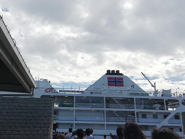 大型客船「さるびあ丸」
